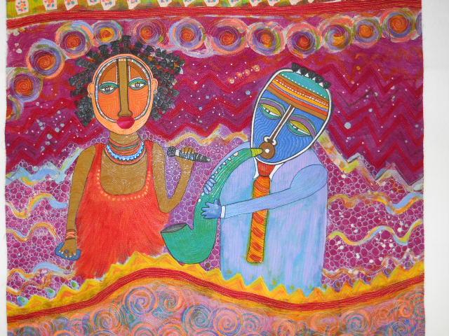 Valeri C  White Full image of Sarah and Bird